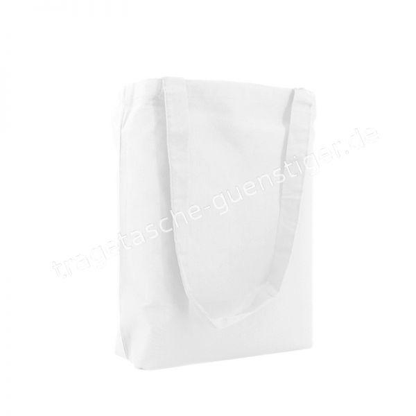 Baumwoll Tragetasche Weiß