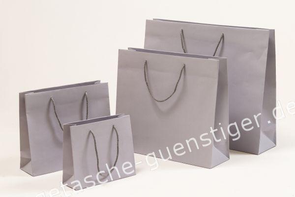 Deluxe Tasche Kraftpapier Grau