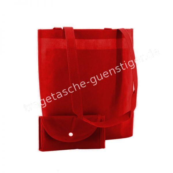 Einkaufstasche Non-Woven Rot