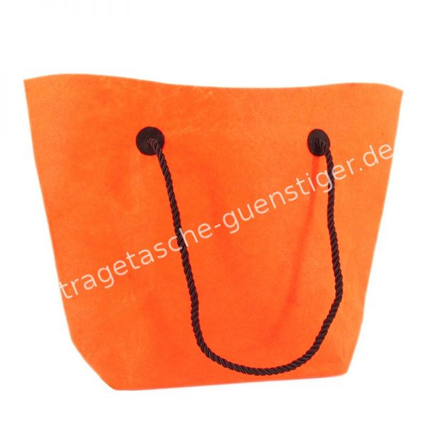 Filz Shopper Orange