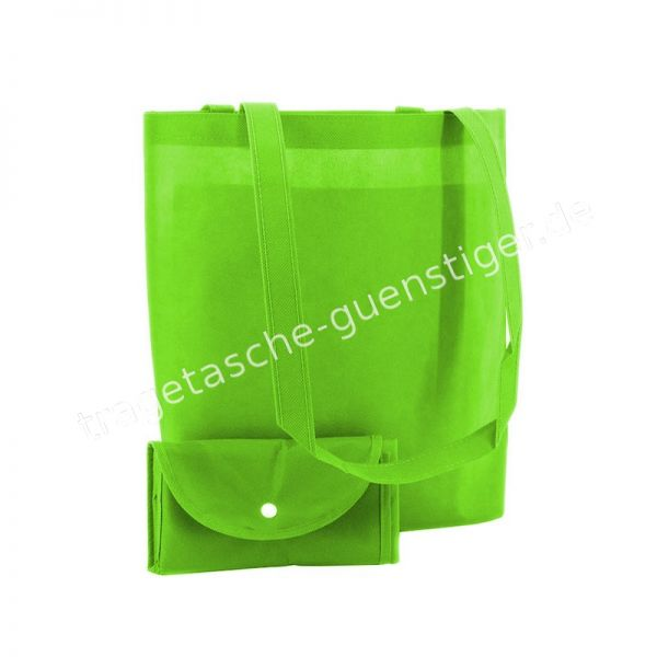 Einkaufstasche Non-Woven Apfelgrün