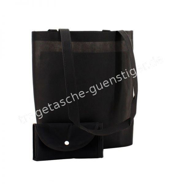 Einkaufstasche Non-Woven Schwarz