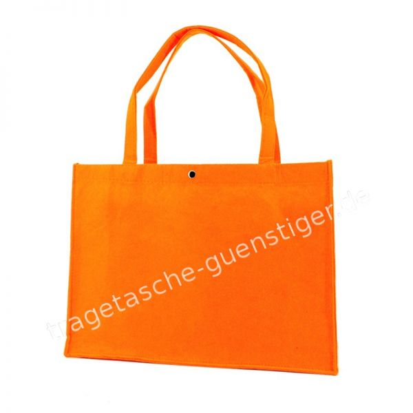 Filz Tragetasche Orange